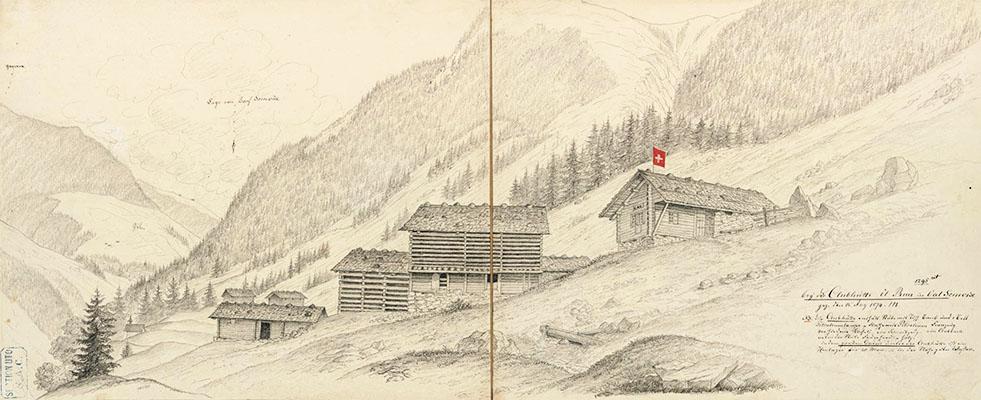 Bey der Clubhütte il Run in Val Somvix : 1295 mt / IM