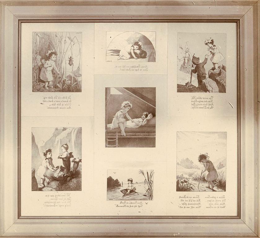 Abb. 2: Robert Breitinger, Illustrationen von Margarete Goetz, Fotografie, 1896, Breitinger, Cabinet V, Varia 3339/131/1896