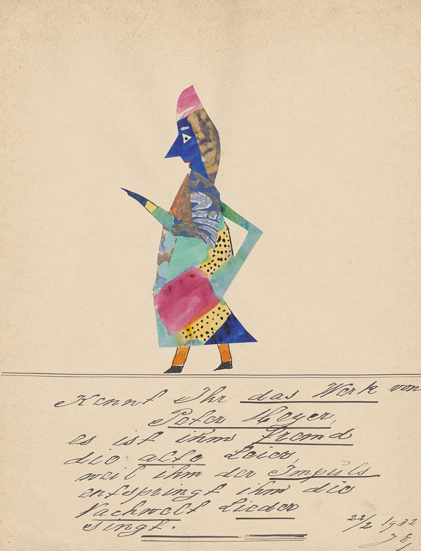 «Kennt Ihr das Werk von Peter Meyer, es ist ihm fremd die alte Leier …». Quelle: Zentralbibliothek Zürich, Ms Z VI 458g.24
