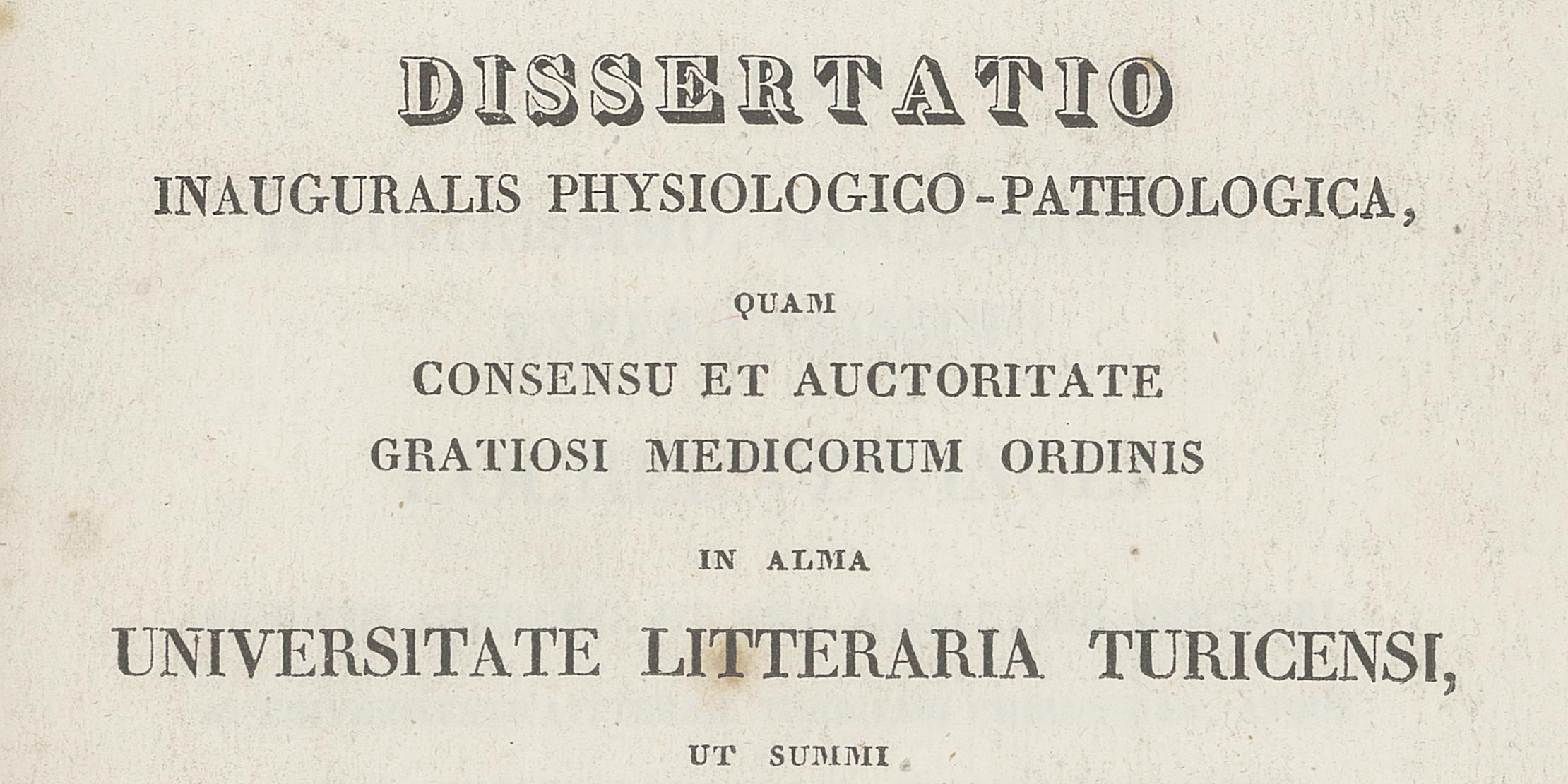 Dissertationen, Habilitationen und Master UZH