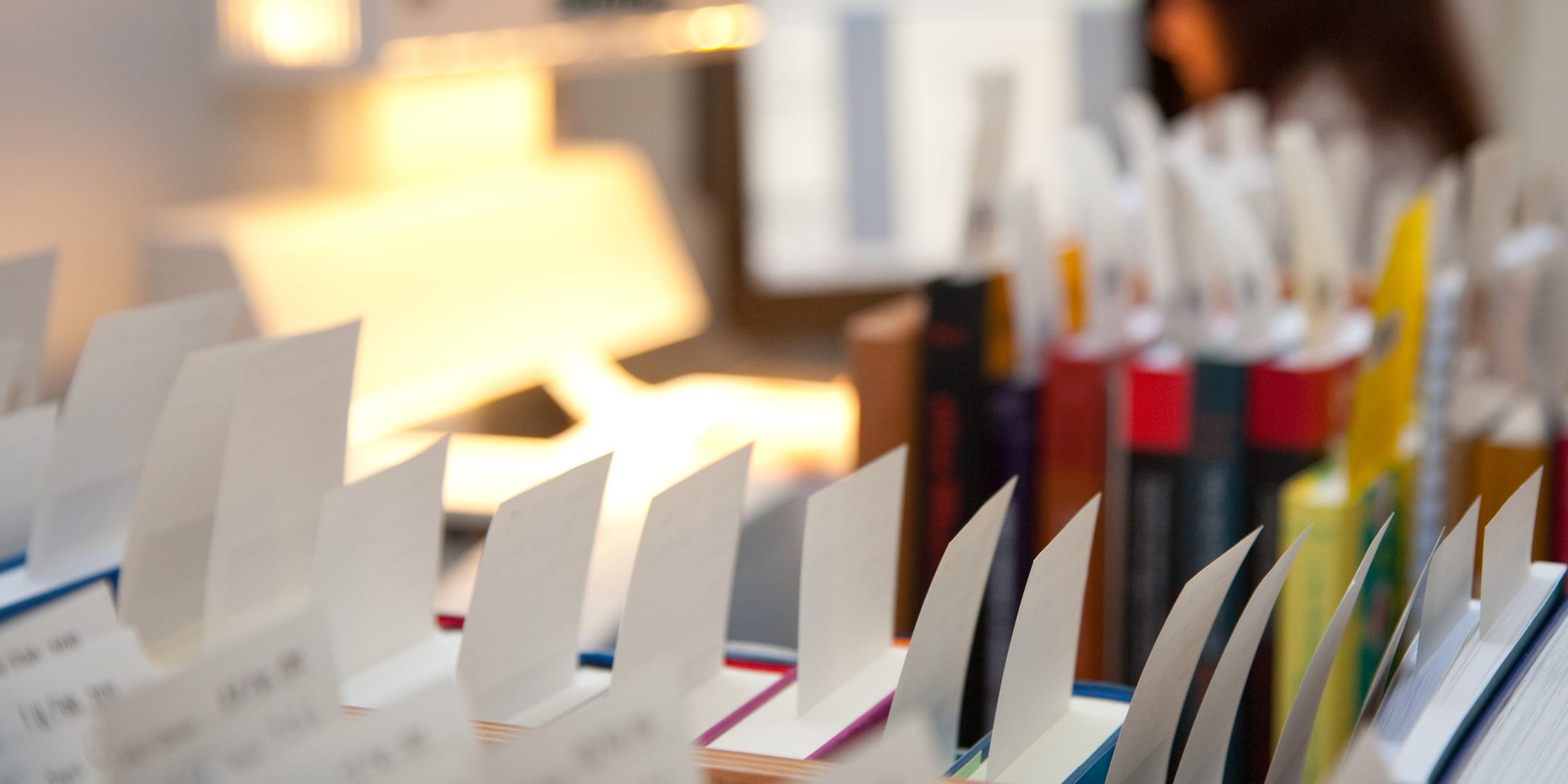Ausleihe in der Zentralbibliothek Zürich