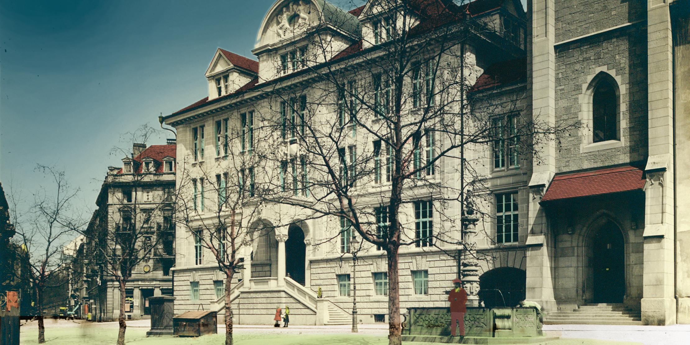 Geschichte der Zentralbibliothek Zürich