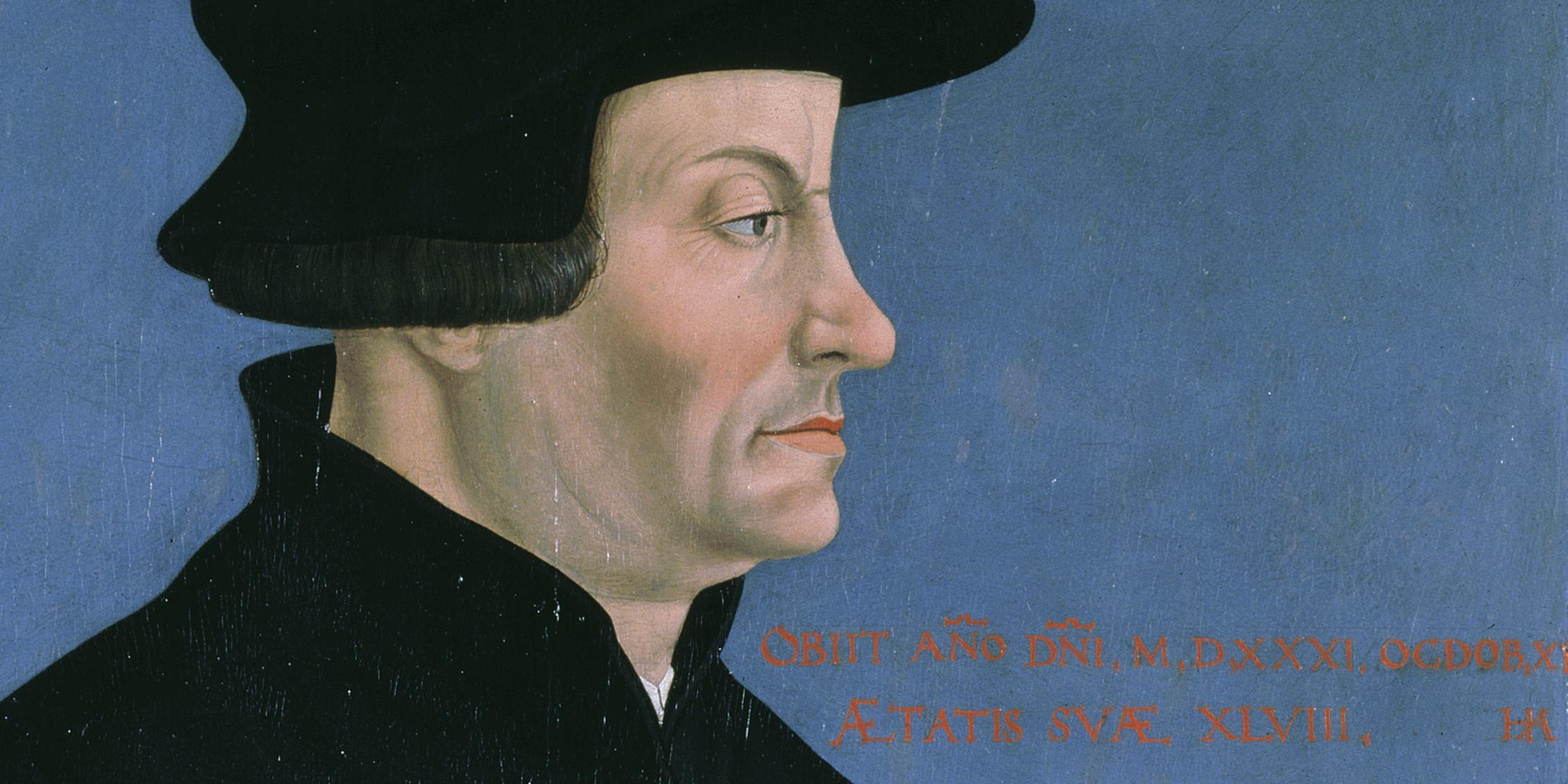 Die Marke «Zwingli». Flugschriften der Zürcher Reformation