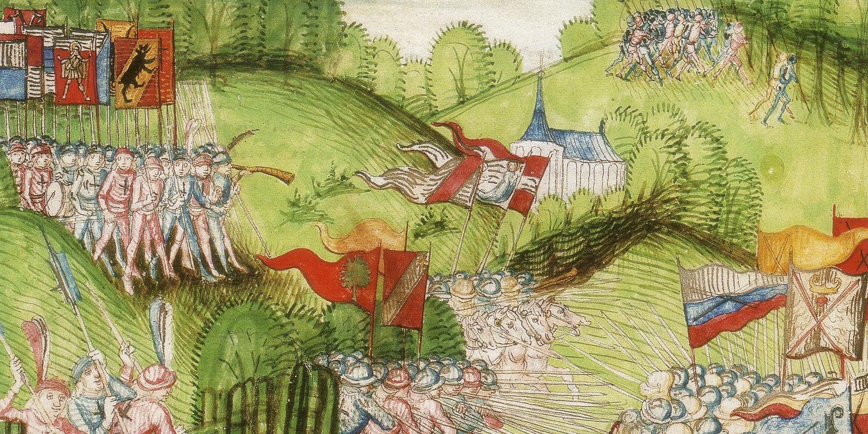 «Zürcher Schilling» und «Tschachtlanchronik» – Schweizer Geschichte im Bild