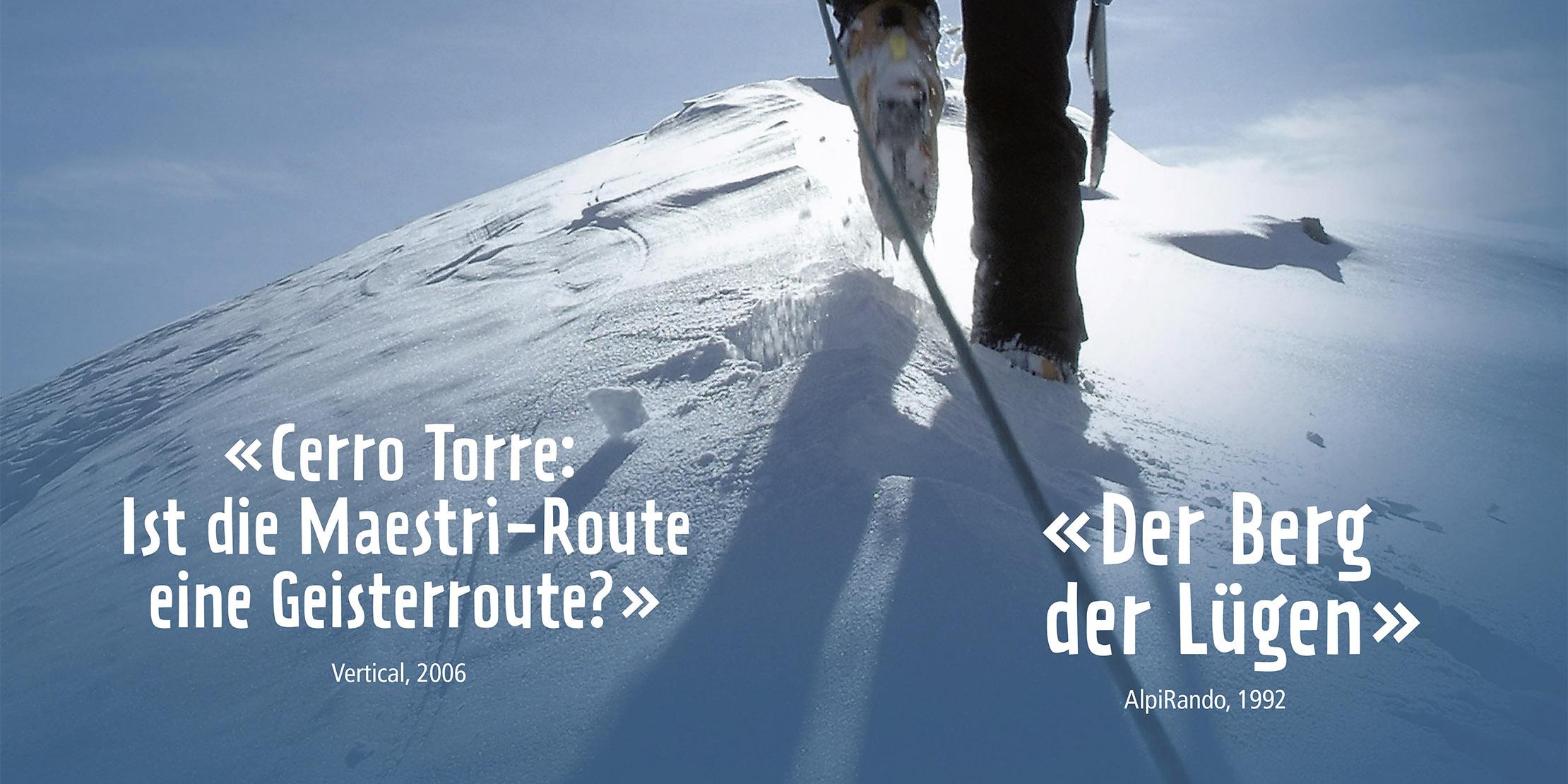 «Fake News im Alpinismus»