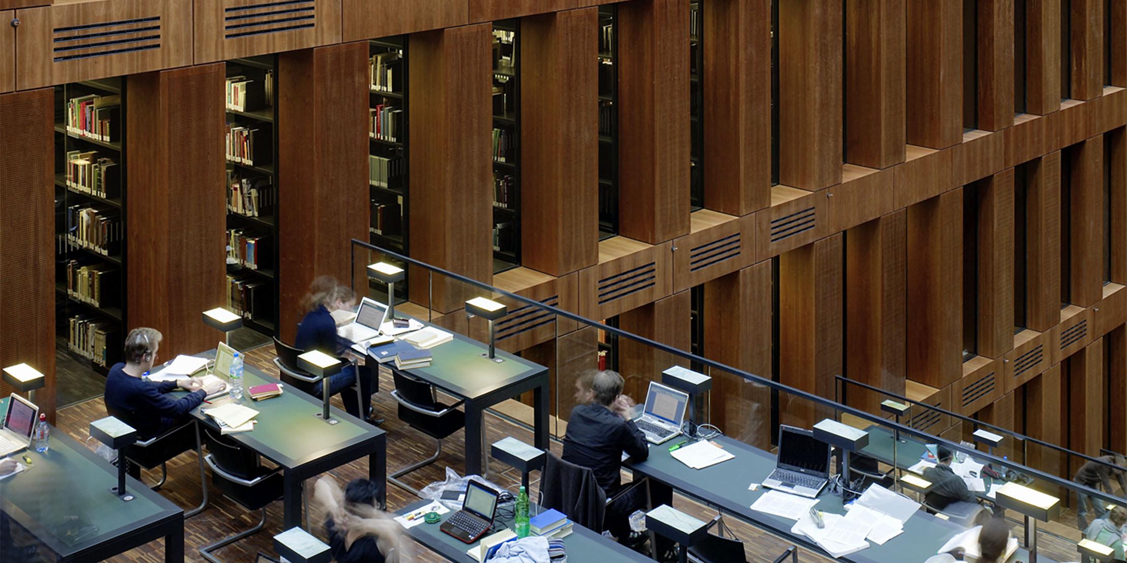 Max Dudler im Gespräch über seine Bibliotheken