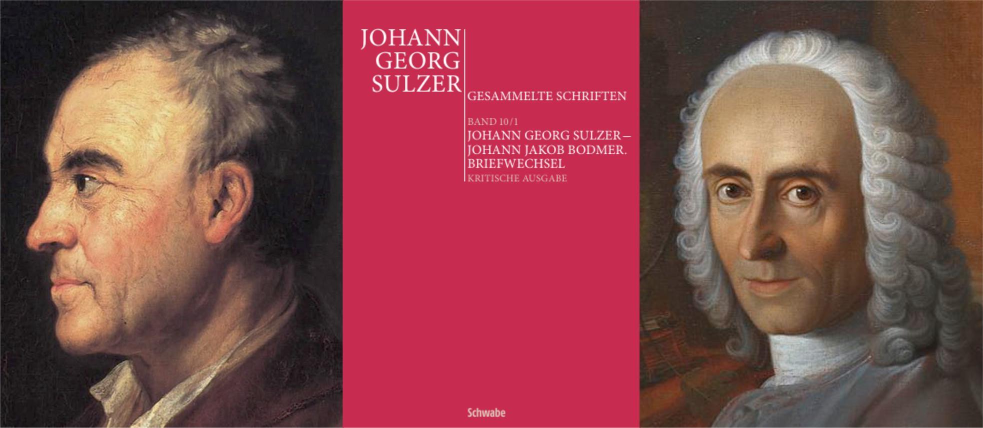 Buchvernissage: Briefwechsel Johann Georg Sulzer - Johann Jakob Bodmer