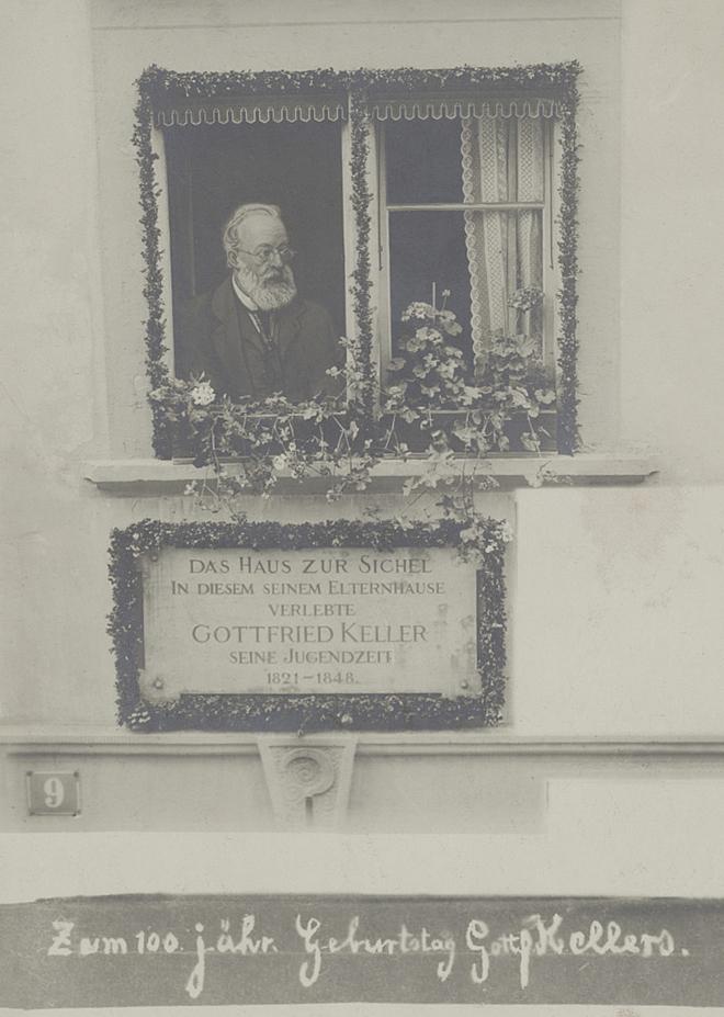 Zentralbibliothek Zürich Gottfried Keller