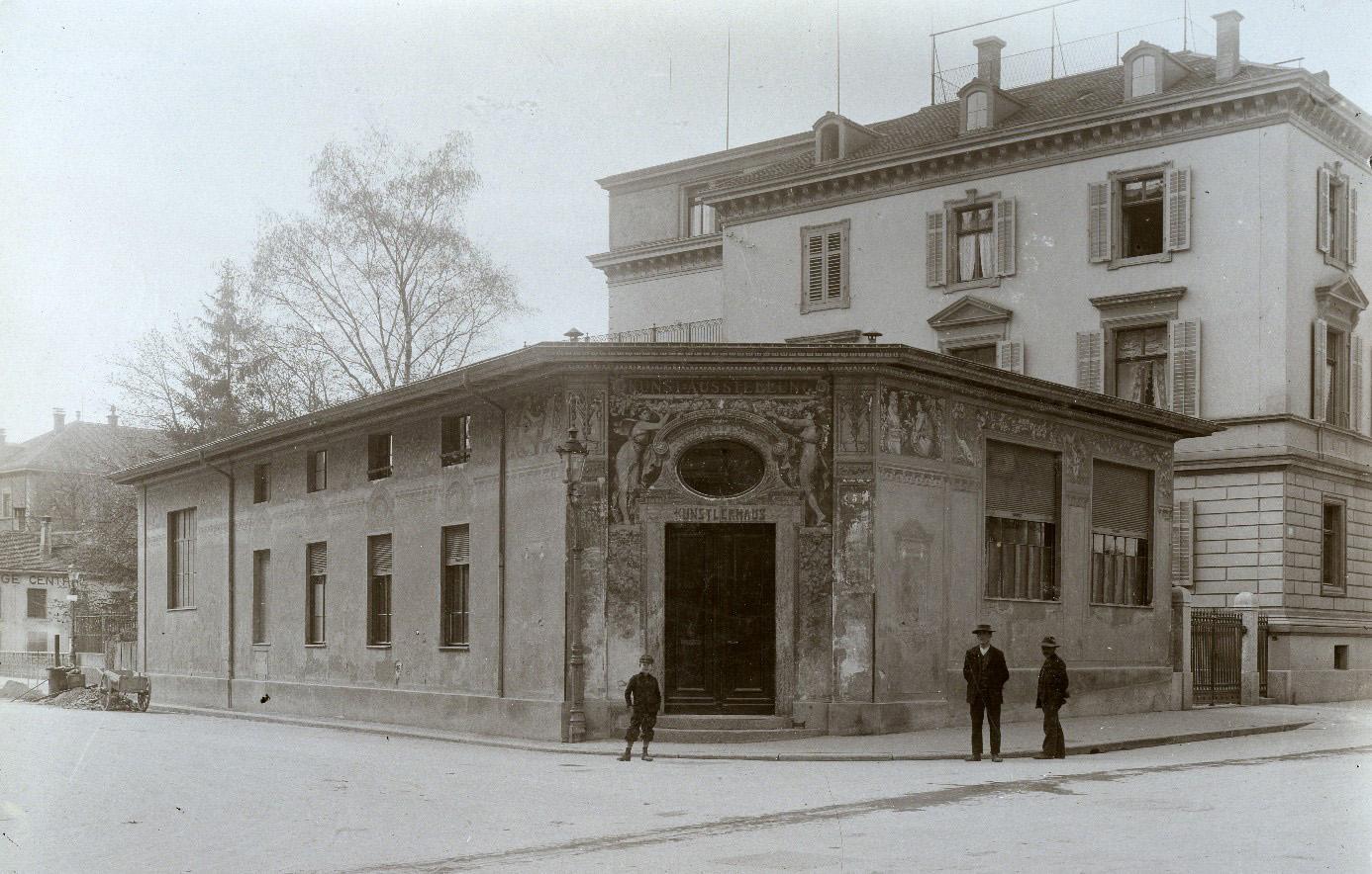 Das Künstlerhaus an der Talstrasse besteht nur von 1895 bis 1911 (Bild: BAZ)
