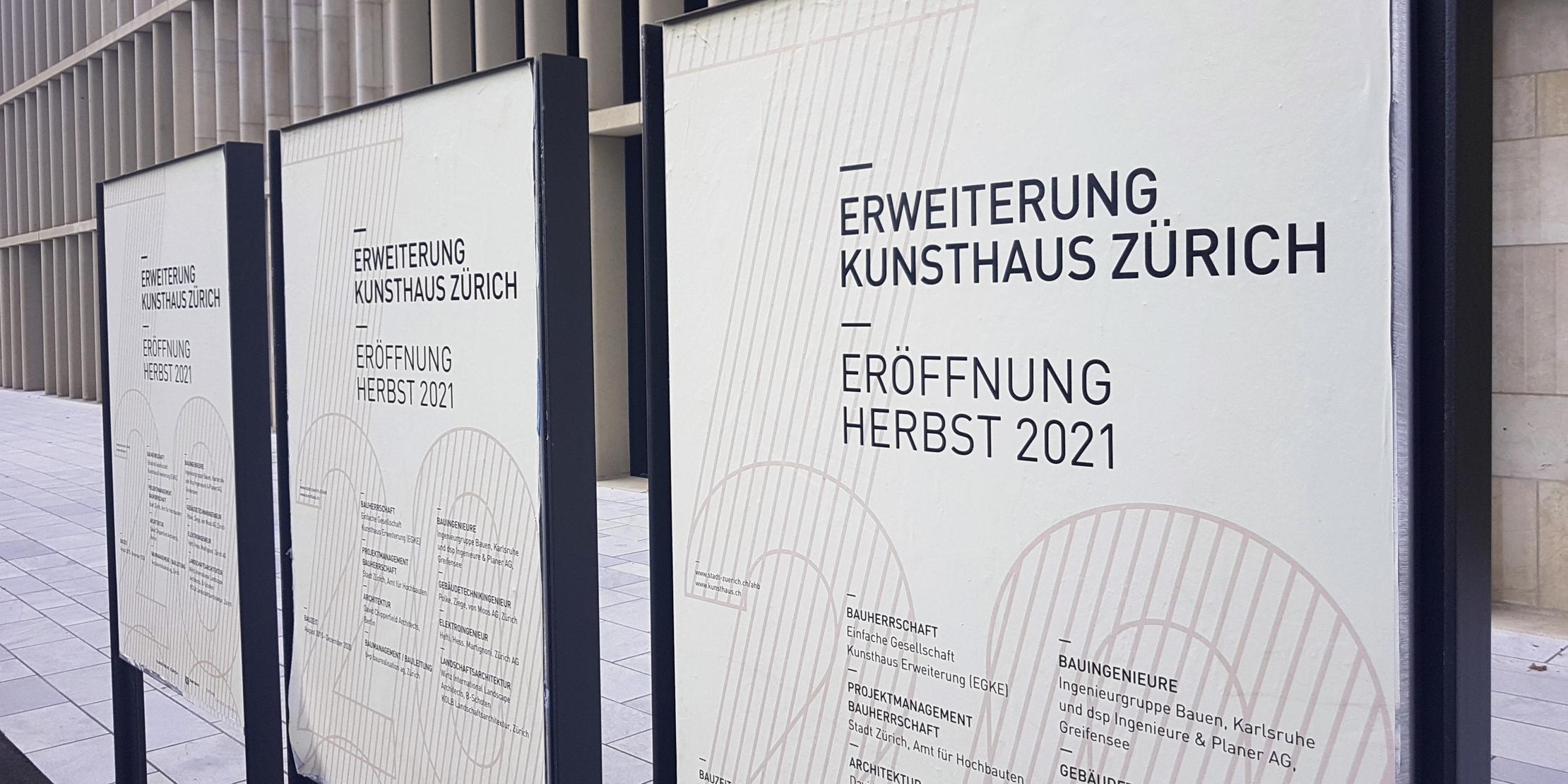 Zürich baut ein Haus für die Kunst…