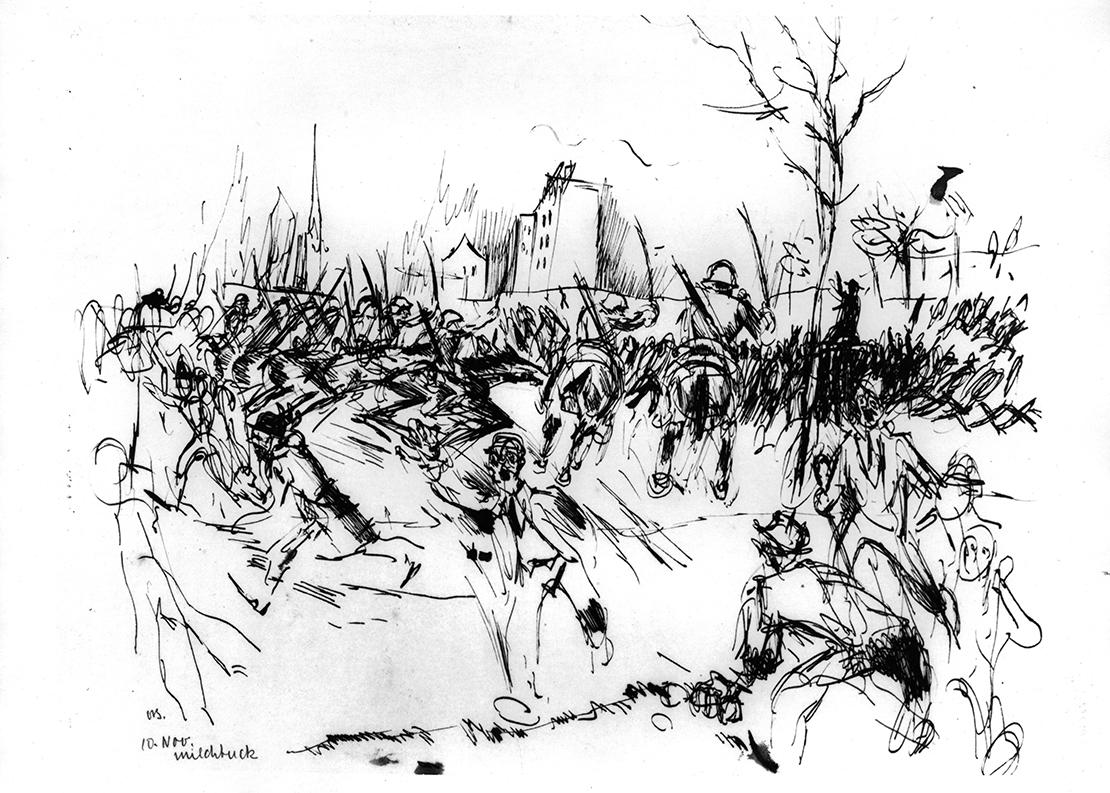 Unruhen vom 10. November 1918 beim Milchbuck.