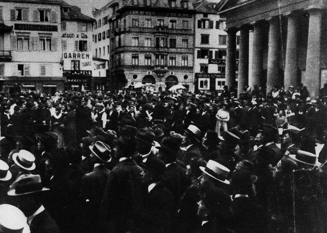 Dem Landesstreik gehen viele Demonstrationen und Streiks voran