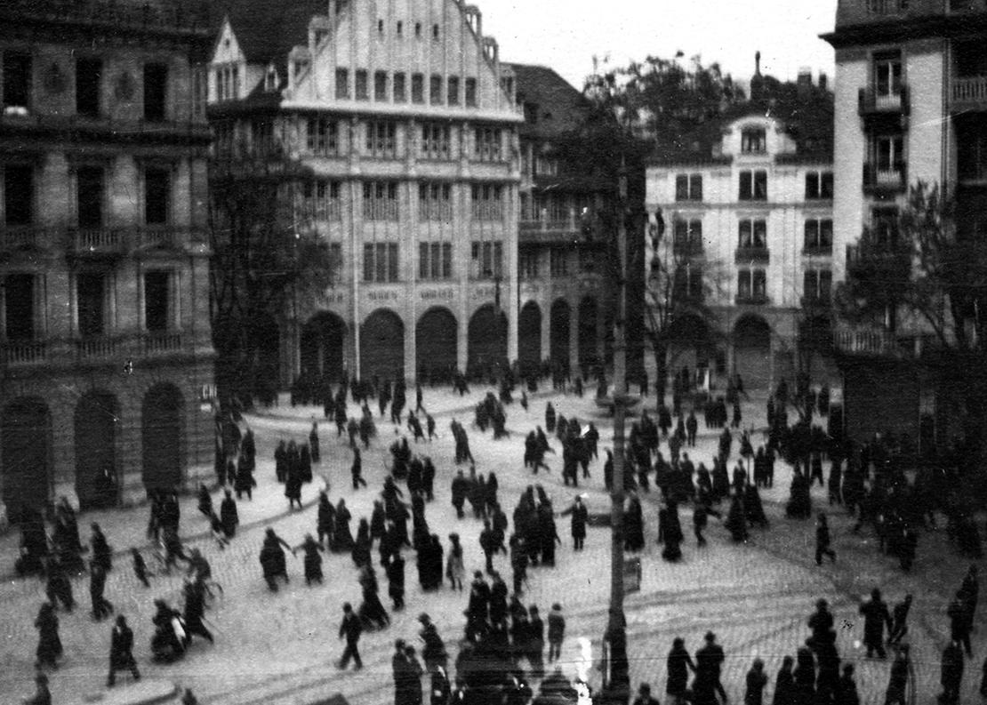 Der Proteststreik vom 9. November 1918