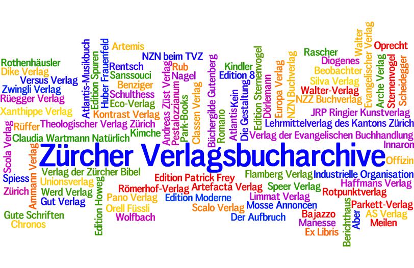 Turicensia: Für über 30 Zürcher Verlagshäuser führen wir das Bucharchiv.