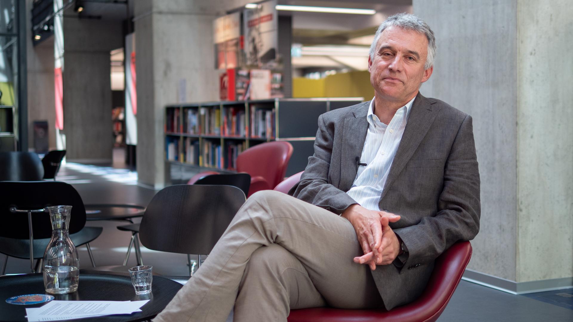 Dr. Christian Oesterheld, Direktor der Zentralbibliothek Zürich