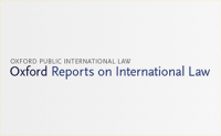 Oxford Reports on International Law (ORIL)