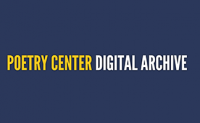 Poetry Center Digital Archive