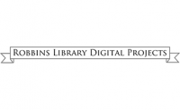 Robbins Library Digital Projects