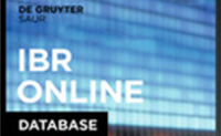 IBR-Online: Internationale Bibliographie der Rezensionen, 1985-