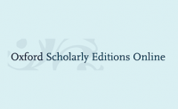 Oxford Scholarly Editions Online (OSEO)