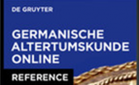 Germanische Altertumskunde online (GAO)